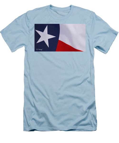 Texas Star Men's T-Shirt (Athletic Fit)