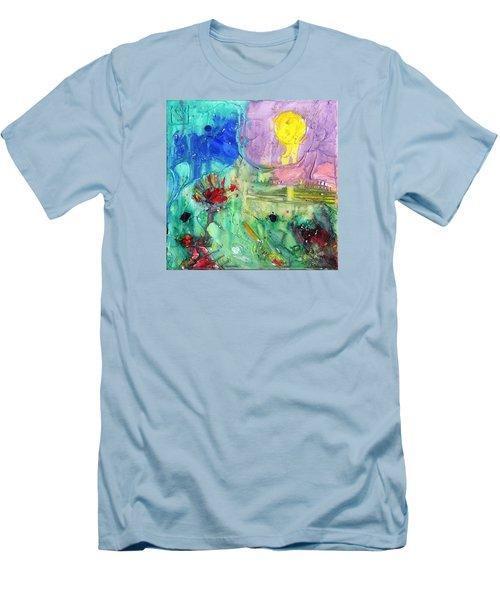 Thanksgiving Men's T-Shirt (Slim Fit) by Phil Strang
