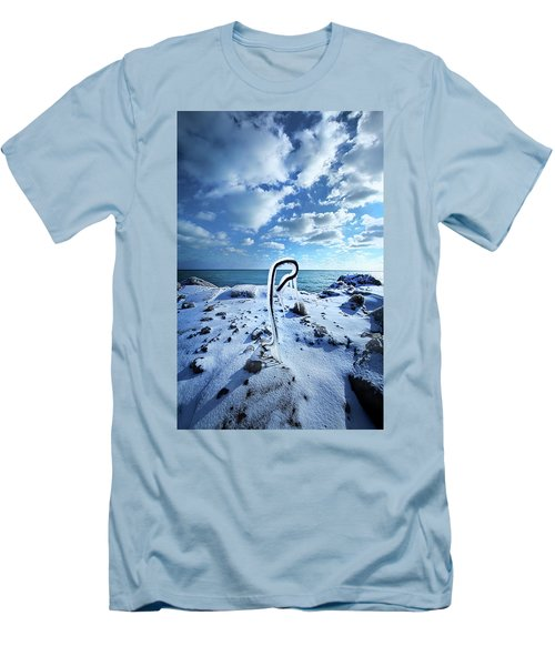 Men's T-Shirt (Slim Fit) featuring the photograph That One Weird Thing by Phil Koch