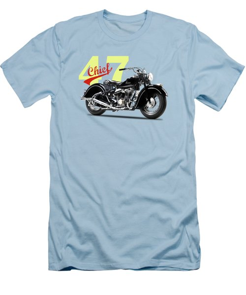 The 1947 Chief Men's T-Shirt (Slim Fit) by Mark Rogan
