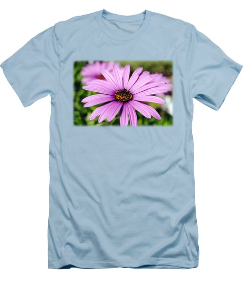 The African Daisy T-shirt 1 Men's T-Shirt (Slim Fit) by Isam Awad