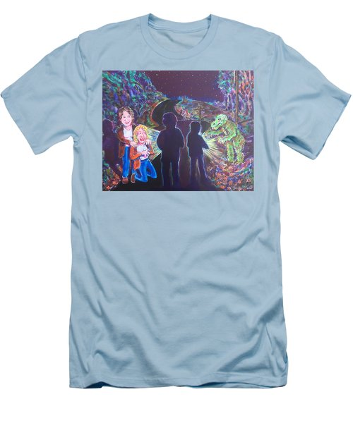 The Bay Road Swamp Monster Men's T-Shirt (Athletic Fit)