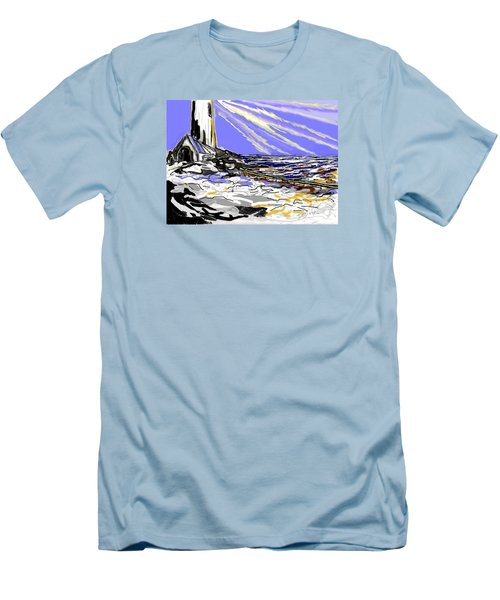 The Beacon Men's T-Shirt (Slim Fit) by Desline Vitto