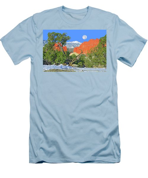 The Beauty That Takes Your Breath Away And Leaves You Speechless. That's Colorado.  Men's T-Shirt (Slim Fit) by Bijan Pirnia