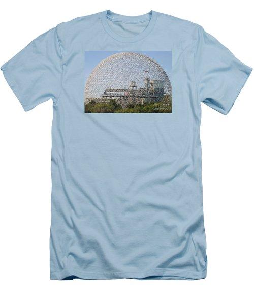 The Biosphere  Ile Sainte-helene Montreal Quebec Men's T-Shirt (Athletic Fit)