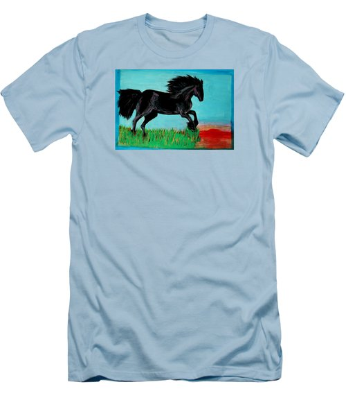 The Black Stallion Men's T-Shirt (Athletic Fit)