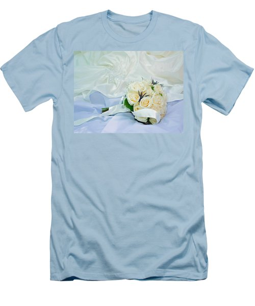 The Bouquet Men's T-Shirt (Slim Fit) by Keith Armstrong