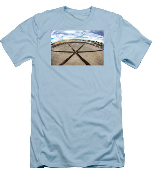 The Center Of The Earth Men's T-Shirt (Athletic Fit)