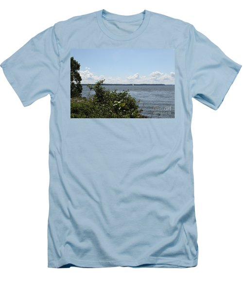 The Chesapeake From Turkey Point Men's T-Shirt (Athletic Fit)