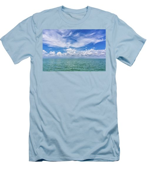 The Dance Of Clouds On The Sea Men's T-Shirt (Athletic Fit)