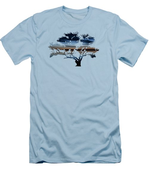 The Dawning Tree Men's T-Shirt (Athletic Fit)