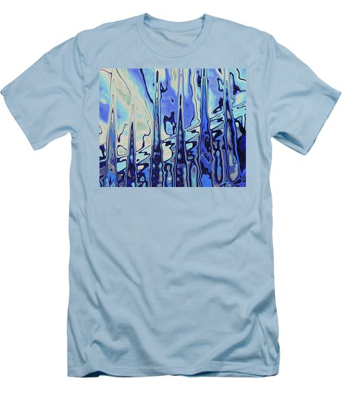 Men's T-Shirt (Athletic Fit) featuring the digital art The Drowsy Conversation by Wendy J St Christopher