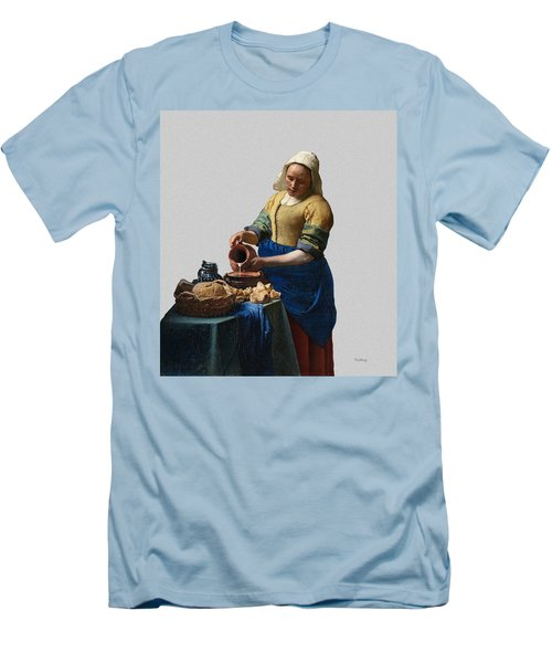 The Elegance Of The Kitchen Maid Men's T-Shirt (Athletic Fit)