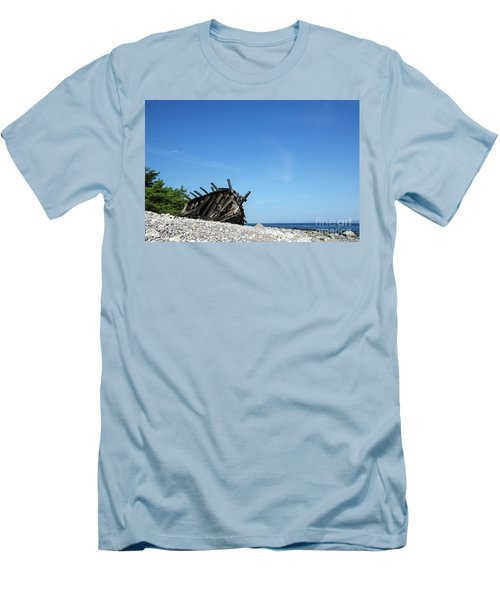 Men's T-Shirt (Athletic Fit) featuring the photograph The Final Rest by Kennerth and Birgitta Kullman
