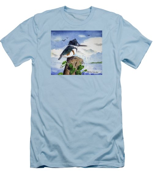 The Fisher Queen  Men's T-Shirt (Athletic Fit)