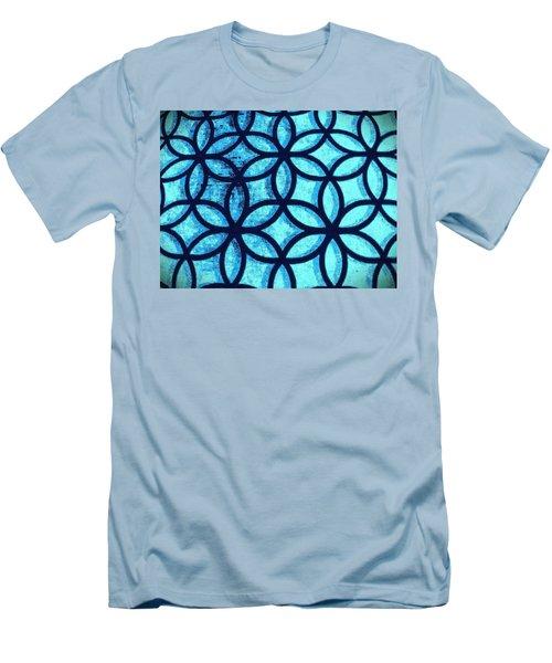 The Flower Of Life Men's T-Shirt (Slim Fit) by Karl Reid