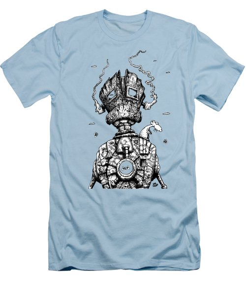 The Ghost In The Machine Men's T-Shirt (Athletic Fit)