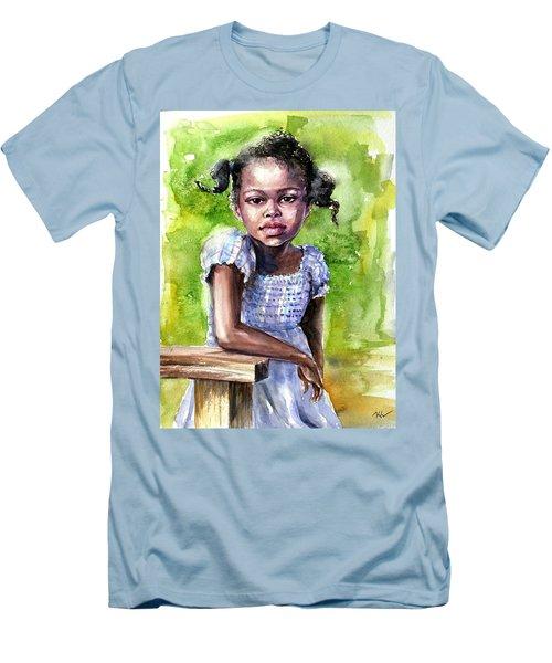 The Girl On The Veranda Men's T-Shirt (Athletic Fit)