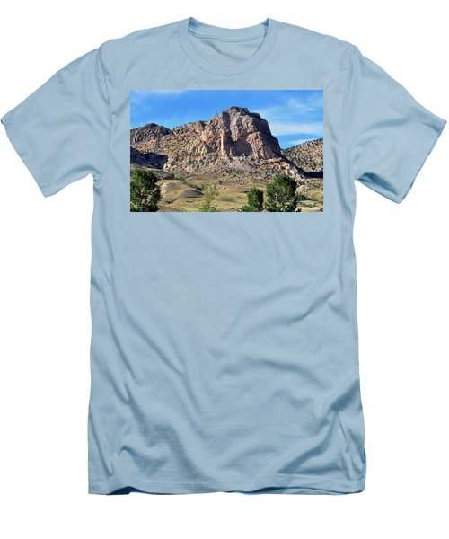 The Glory Of Wyoming Men's T-Shirt (Athletic Fit)