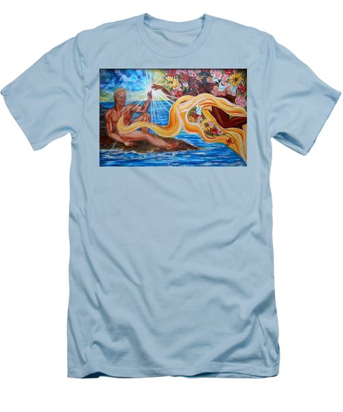 The Goddess Men's T-Shirt (Athletic Fit)