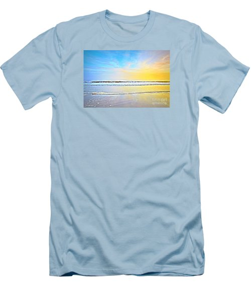 The Golden Hour Men's T-Shirt (Slim Fit) by Shelia Kempf