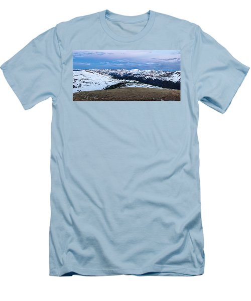 The Gore Range At Sunrise - Rocky Mountain National Park Men's T-Shirt (Athletic Fit)