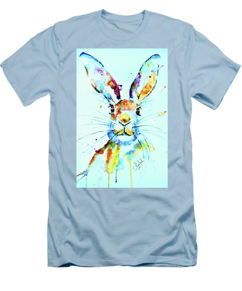 The Hare Men's T-Shirt (Slim Fit) by Steven Ponsford