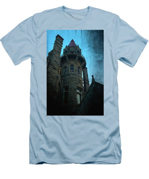 The Haunted Tower Men's T-Shirt (Slim Fit) by Keith Boone