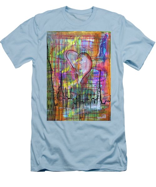 The Heart Of The City Men's T-Shirt (Athletic Fit)