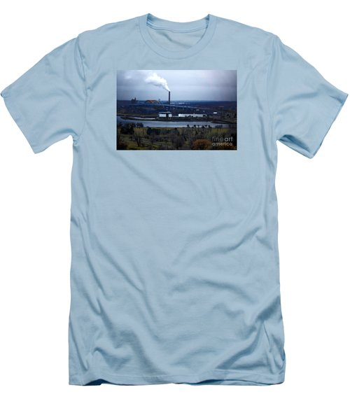 Men's T-Shirt (Slim Fit) featuring the digital art The Hoan by David Blank