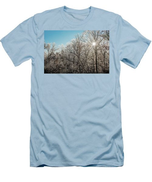 The Ice Storm Men's T-Shirt (Slim Fit) by Penny Lisowski