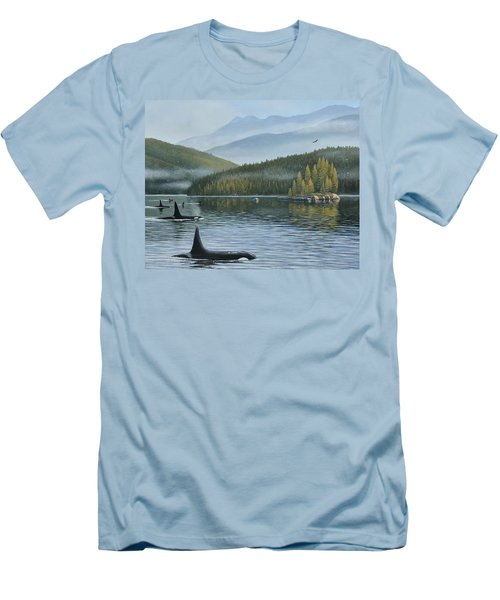 The Inside Passage Men's T-Shirt (Athletic Fit)