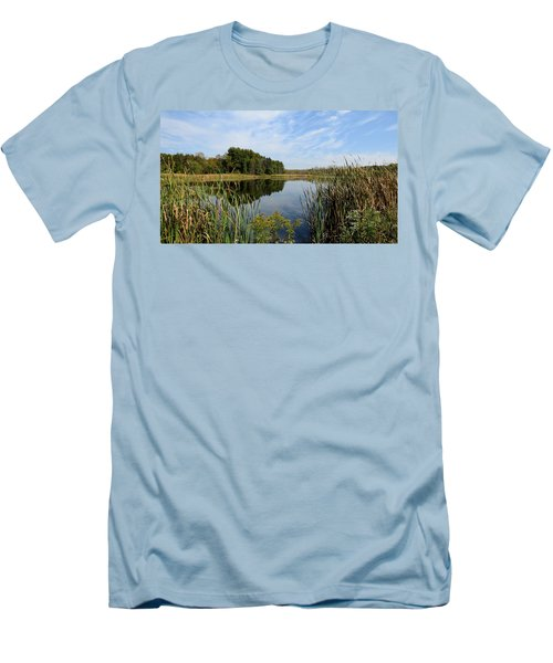 The Lake At Cadiz Springs Men's T-Shirt (Athletic Fit)