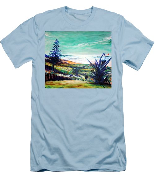 The Lawn Pandanus Men's T-Shirt (Athletic Fit)