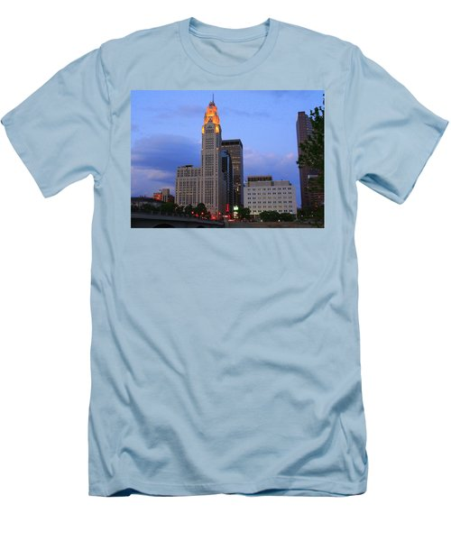 The Lincoln Leveque Tower Men's T-Shirt (Athletic Fit)