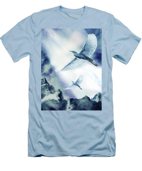 The Magic Of Flight Men's T-Shirt (Slim Fit) by Hartmut Jager