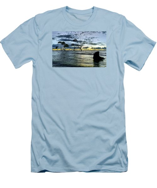 The Mangrove Trees Men's T-Shirt (Athletic Fit)