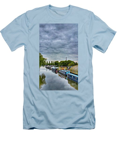 The Marina Men's T-Shirt (Slim Fit) by Isabella F Abbie Shores FRSA