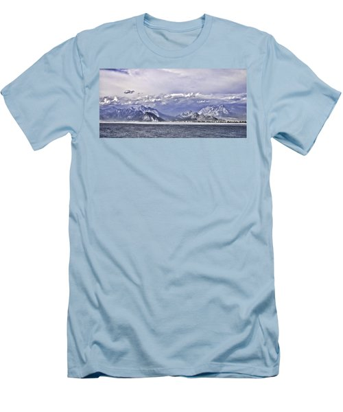 The Mediterranean Coast Men's T-Shirt (Athletic Fit)