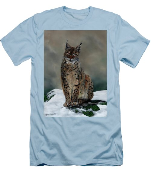 The Missing Lynx Men's T-Shirt (Athletic Fit)