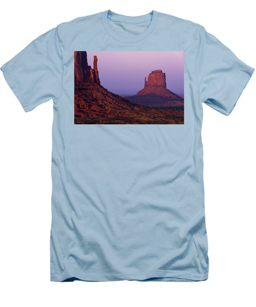 Men's T-Shirt (Slim Fit) featuring the photograph The Mittens by Chad Dutson
