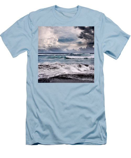The Music Of Light Men's T-Shirt (Slim Fit) by Sharon Mau