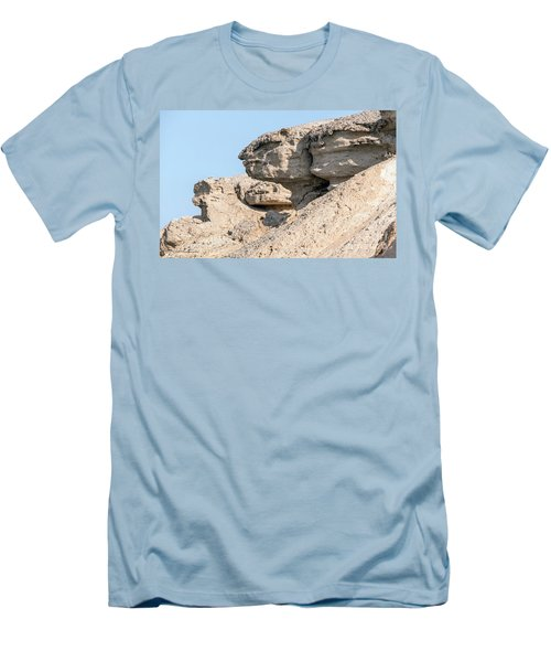 Men's T-Shirt (Slim Fit) featuring the photograph The Old Gatekeeper 02 by Arik Baltinester