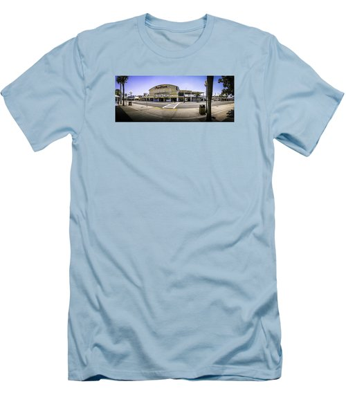 The Old Myrtle Beach Pavilion Men's T-Shirt (Slim Fit) by David Smith