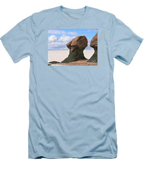 Men's T-Shirt (Slim Fit) featuring the photograph The Old Wise One by Heather King