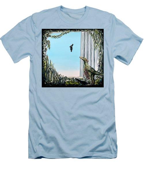 The Origin Of Species -a Recurring Pattern- Men's T-Shirt (Slim Fit) by Ryan Demaree