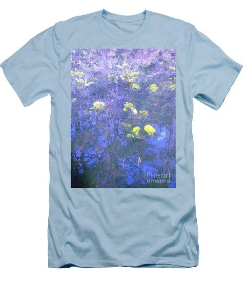 The Pond 1 Men's T-Shirt (Slim Fit) by Melissa Stoudt