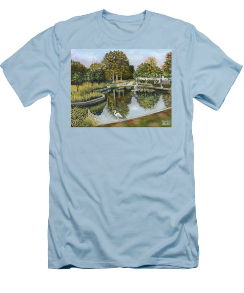 The Pond At Maple Grove Men's T-Shirt (Athletic Fit)