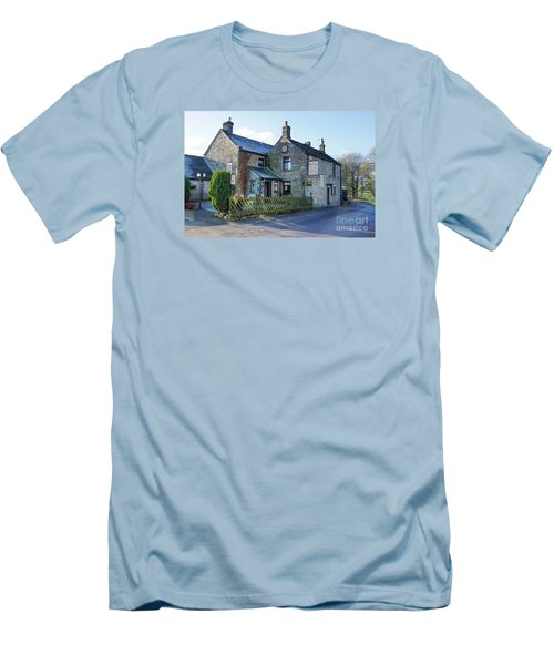 The Queen Anne At Great Hucklow Men's T-Shirt (Athletic Fit)