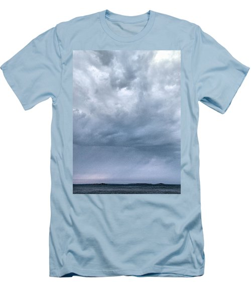 Men's T-Shirt (Slim Fit) featuring the photograph The Rising Storm by Jouko Lehto